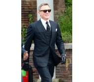 Navy Blue3 Piece Spectre James Bond Suit