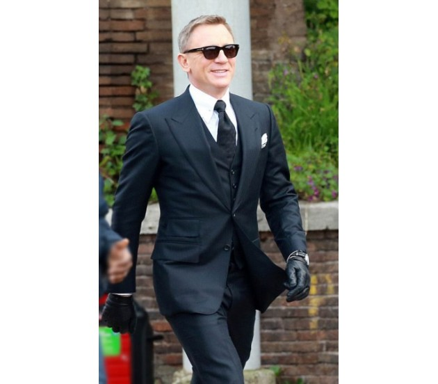 Navy Blue3 Piece Spectre James Bond Suit