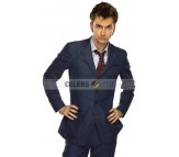 Doctor Who David Tennant Blue Suit