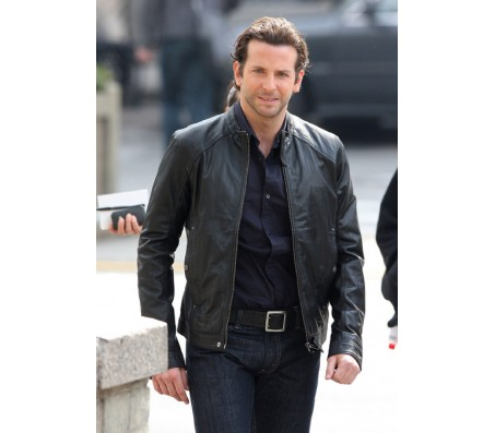 Bradley Cooper Limitless Real Leather Jacket
