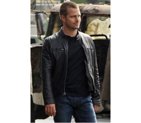 NCIS Los Angeles Real Leather Jacket