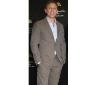 Daniel Craig 64th Festival Brown Suit