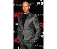 Jason Statham Metallic Gray Suit