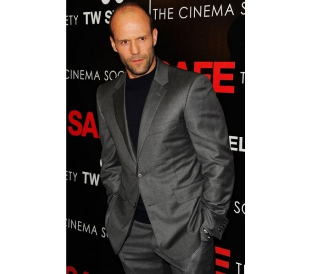 Get Jason Statham Grey Suit | Metallic Gray Suit – Celebs Outfit