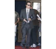 Mark Wahlberg in Paris 2 Blue Suit