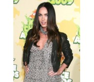 Megan Fox Black Short Leather Jacket