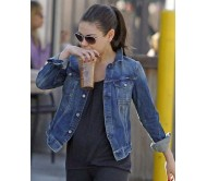 Mila Kunis Classic Denim Jacket