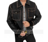 Sheriff Graham Once Upon A Time Real Leather Jacket
