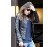 Studio City Mila Kunis Black Leather Jacket
