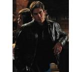 Damon Salvatore Vampire Diaries Real Leather Jacket