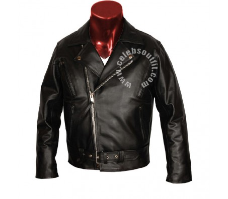 Ghost Rider Motorcycle Real Leather Jacket