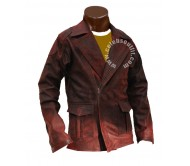 I Robot Distressed Real Leather Jacket