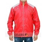 Michael Jackson Red Beat Real Leather Jacket