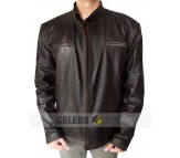 Rescue Me Tommy Gavin Real Leather Jacket