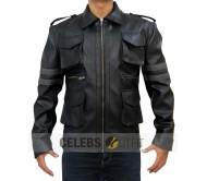 Resident Evil 6 Leon Kennedy Black Jacket