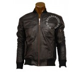 Shia La Beouf Wall Street Black Real Leather Jacket