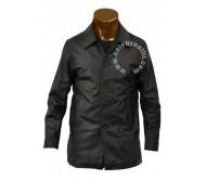Supernatural Black Real Leather Jacket