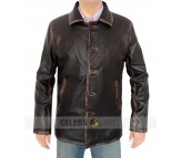 Brown Supernatural Distressed Jacket