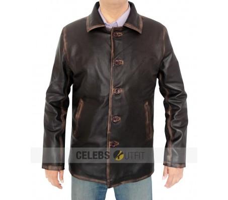 Brown Supernatural Distressed Jacket
