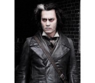 Sweeney Todd Long Real Leather Jacket