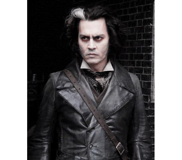 Leading Sweeney Todd Jacket Long Sweeney Leather Jacket