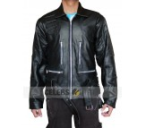 Terminator 3 Motorcycle Real Leather Jacket