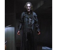 Eric Draven The Crow Real Long Leather Jacket