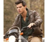 The Twilight Saga Jacob Black Brown Real Leather Jacket