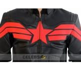 The Winter Soldier Captain America Jacket - Black and Red