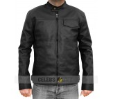 Transformers 3 Black Real Leather Jacket