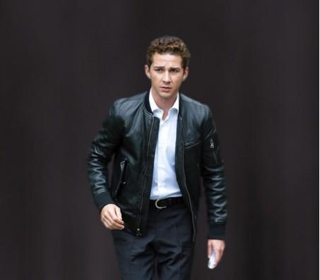 Wall Street Money Never Sleeps Real Leather Jacket