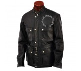 Brad Pitt Benjamin Button Real Leather Jacket