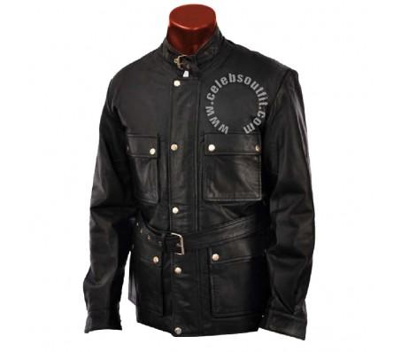 Brad Pitt Benjamin Button Real Leather Jacket