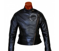 Angelina Jolie Real leather jacket