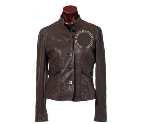 Women Vintage Leather Jacket
