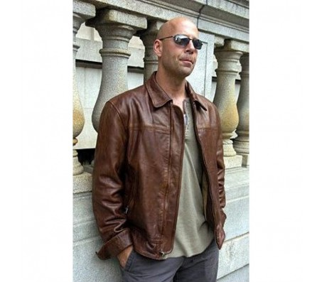 Die Hard A Good Day To Real Leather Jacket