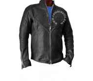 Superman Smallville Black Real Leather Jacket