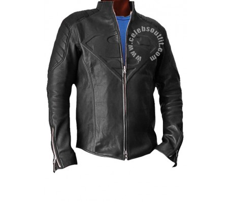 Superman Smallville Black Real Leather Jacket