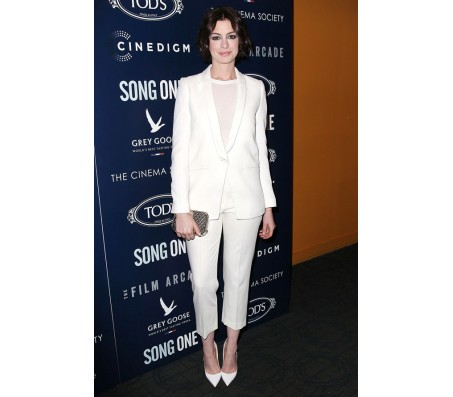 Anne Hathaway Song One screening Suit