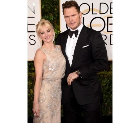 Golden Globe Awards Chris Pratt Tuxedo Suit