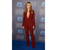 Jennifer Aniston Critics Choice Awards Suit