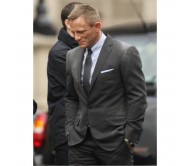 James Bond Skyfall Grey Suit