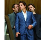 Tom Cruise Mission Impossible Ghost Protocol Blue Suit