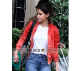 A Rainy Day In Newyork Selena Gomez Jacket
